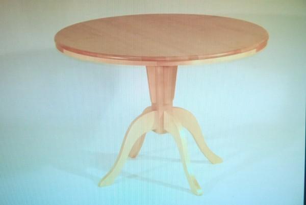 Koivula pöytä kiinteä/pyöreä 105
