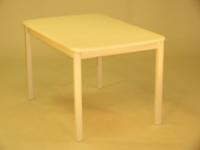 Koivula kiinteäkantinen pöytä 130x82  ja Koivisto tuolit
